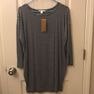 Francesca's tunic top or  dress. Sz S